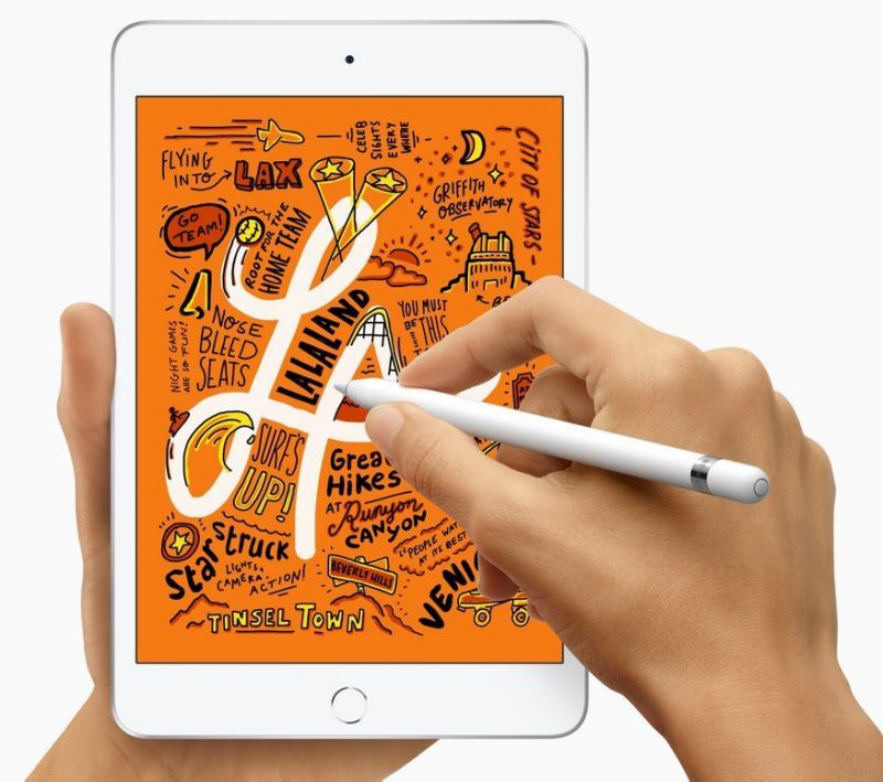 The iPad Mini's size is perfect for tossing in your bag, or your jacket pocket. (image: Apple)