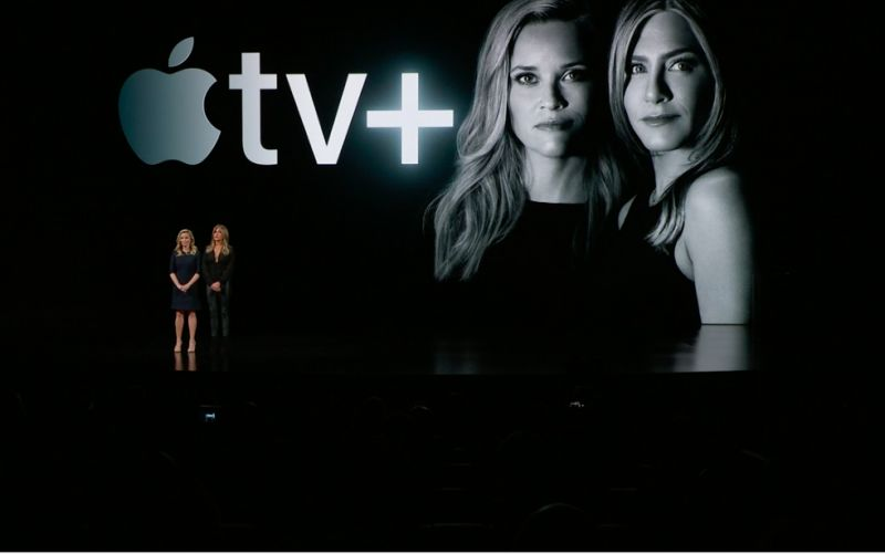 Apple today debuted its new Apple TV Plus streaming service (image: Apple)