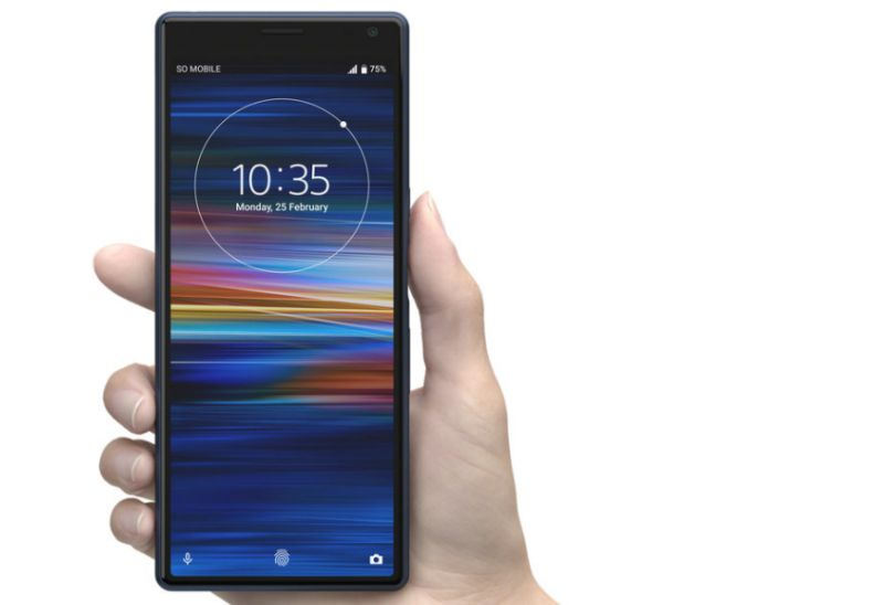 The Sony Xperia 10 (image: Sony)