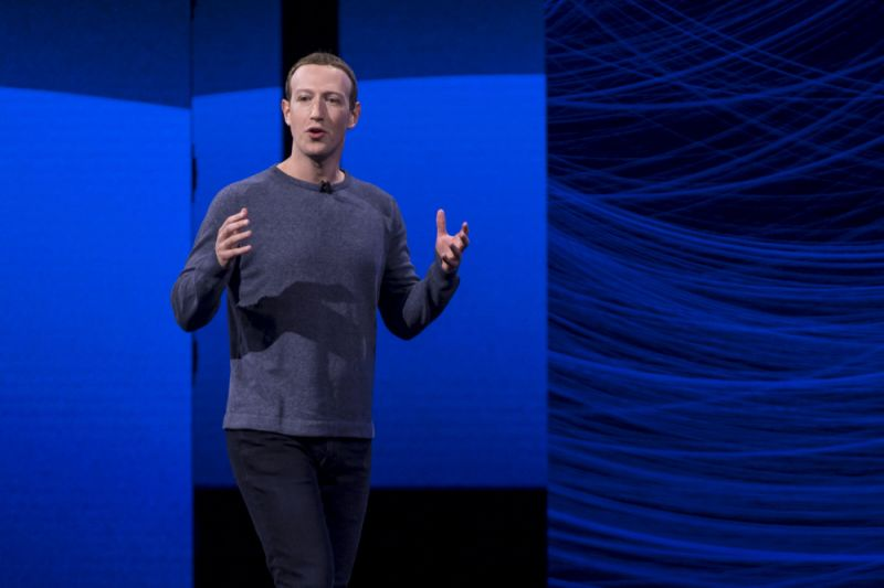 Mark Zuckerberg, chief executive officer and founder of Facebook Inc., speaks during the F8 Developers Conference in San Jose, California, U.S., on Tuesday, April 30, 2019. Facebook Inc.unveiled a redesign that focuses on the Groups feature of its main social network, doubling down on a successful but controversial part of its namesake app and another sign that Facebook is moving toward more private, intimate communication. Photographer: David Paul Morris/Bloomberg via Getty Images