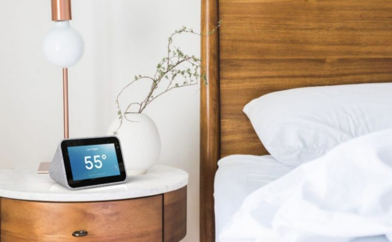 Lenovo's Smart Clock is designed to serve as a smarter version of the classic alarm clock. And it largely succeeds. (Image: Lenovo)