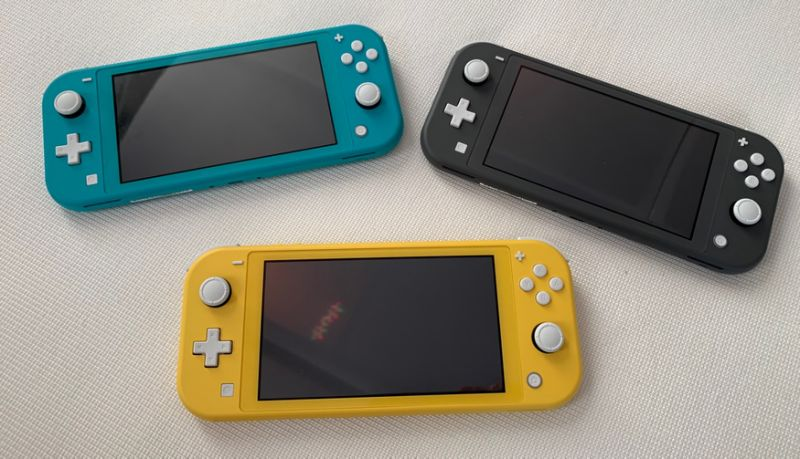 The Nintendo Switch Lite is a $199 version of the Switch that's designed to be more portable. (Image: Howley)