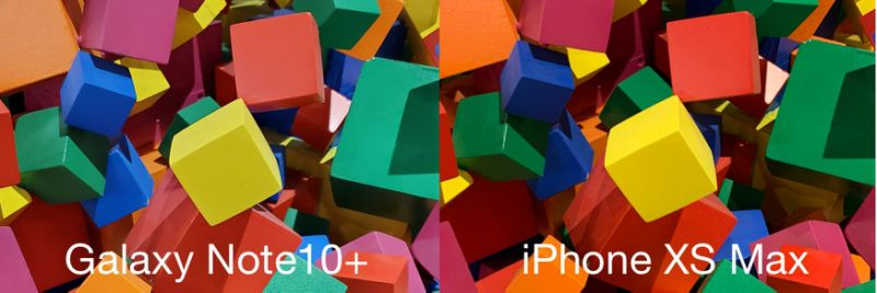 Colors in photos taken with the Galaxy Note10+ are a bit muted compared to photos taken with the iPhone XS Max. (Image: Howley)