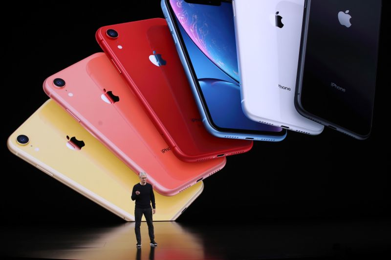 CUPERTINO, CALIFORNIA - SEPTEMBER 10: Apple CEO Tim Cook announces the new iPhone 11 as he delivers the keynote address during a special event on September 10, 2019 in the Steve Jobs Theater on Apple's Cupertino, California campus. Apple unveiled new products during the event. (Photo by Justin Sullivan/Getty Images)