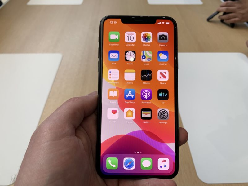 The iPhone 11 Pro sports an improved processor and battery on the inside. (Image: Howley)